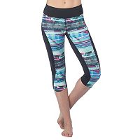 Women's PL Movement by Pink Lotus Tropic Yoga Capri Leggings