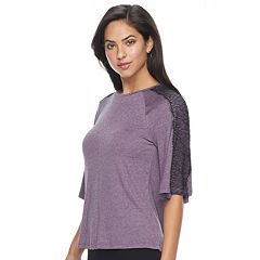 Women's Apt. 9® Lace Raglan Top