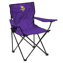Adult Logo Brand Minnesota Vikings Quad Portable Folding Chair