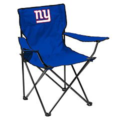 Adult Logo Brand New York Giants Quad Portable Folding Chair
