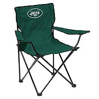 Adult Logo Brand New York Jets Quad Portable Folding Chair