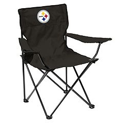 Adult Logo Brand Pittsburgh Steelers Quad Portable Folding Chair