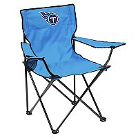 Adult Logo Brand Tennessee Titans Quad Portable Folding Chair