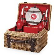 Picnic Time Atlanta Hawks Champion Picnic Basket with Service for 2
