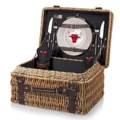Picnic Time Chicago Bulls Champion Picnic Basket with Service for 2