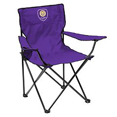 Adult Logo Brands Orlando City SC Quad Portable Folding Chair
