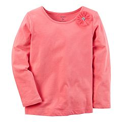Baby Girl Carter's Pink Bow Tee