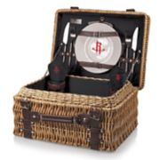 Picnic Time Houston Rockets Champion Picnic Basket with Service for 2
