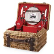 Picnic Time Los Angeles Clippers Champion Picnic Basket with Service for 2
