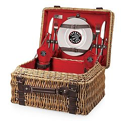 Picnic Time Toronto Raptors Champion Picnic Basket with Service for 2