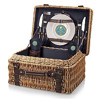 Picnic Time Denver Nuggets Champion Picnic Basket with Service for 2