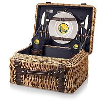 Picnic Time Golden State Warriors Champion Picnic Basket with Service for 2