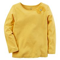 Baby Girl Carter's Yellow Bow Tee