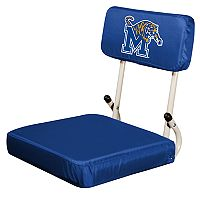Logo Brands Memphis Tigers Hard Back Stadium Seat