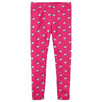 Baby Girl Carter's Heart Print Leggings