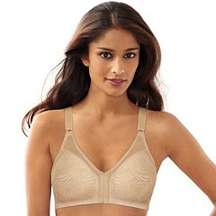 Bali Bra: Double Support Front-Closure Wire-Free Bra DF1003
