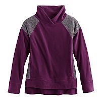 Girls 7-16 & Plus Size SO® Microfleece Cowlneck Pullover