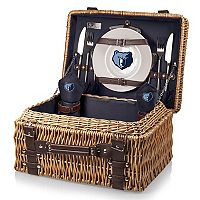 Picnic Time Memphis Grizzlies Champion Picnic Basket with Service for 2