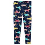 Baby Girl Carter's Dog Print & Polka-Dot Leggings