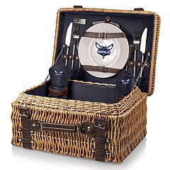 Picnic Time Charlotte Hornets Champion Picnic Basket with Service for 2