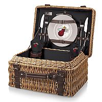 Picnic Time Miami Heat Champion Picnic Basket with Service for 2