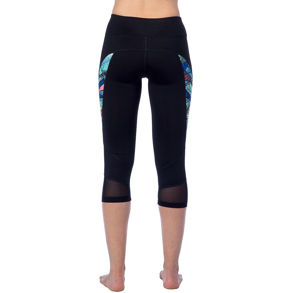 Women's PL Movement by Pink Lotus Amazon Yoga Capri Leggings
