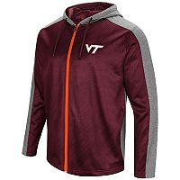 Men's Campus Heritage Virginia Tech Hokies Sleet Full-Zip Hoodie