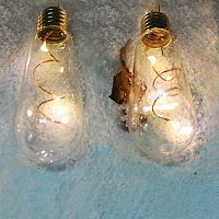 Manor Lane 10-ft. LED Edison Bulb String Lights