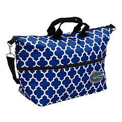 Logo Brand Florida Gators Quatrefoil Expandable Tote