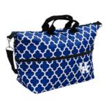 Logo Brand Kentucky Wildcats Quatrefoil Expandable Tote