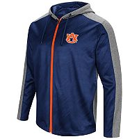 Men's Campus Heritage Auburn Tigers Sleet Full-Zip Hoodie