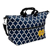Logo Brand Notre Dame Fighting Irish Quatrefoil Expandable Tote