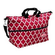 Logo Brand Ohio State Buckeyes Quatrefoil Expandable Tote