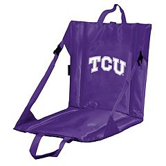 Logo Brands TCU Horned Frogs Folding Stadium Seat