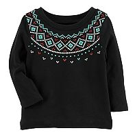 Baby Girl Carter's Fairisle Top