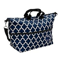 Logo Brand Penn State Nittany Lions Quatrefoil Expandable Tote