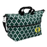 Logo Brand Oregon Ducks Quatrefoil Expandable Tote