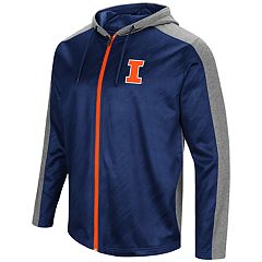 Men's Campus Heritage Illinois Fighting Illini Sleet Full-Zip Hoodie
