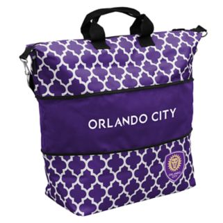 Logo Brand Orlando City SC Quatrefoil Expandable Tote
