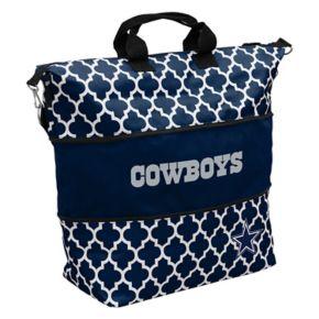 Logo Brand Dallas Cowboys Quatrefoil Expandable Tote