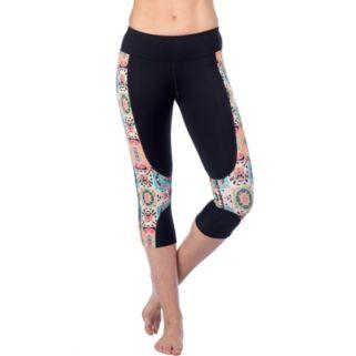 Women's PL Movement by Pink Lotus Unleash Yoga Capri Leggings