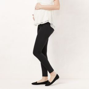 Maternity LC Lauren Conrad Twill Leggings