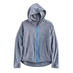 Girls 7-16 & Plus Size SO® Full Zip Microfleece Hoodie