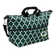 Logo Brand Green Bay Packers Quatrefoil Expandable Tote
