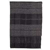 Men's Dockers Reversible Plaid & Herringbone Scarf