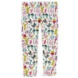 Baby Girl Carter's Fleece-Lined Cool Cat Holiday Leggings