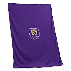 Logo Brands Orlando City SC Sweatshirt Blanket