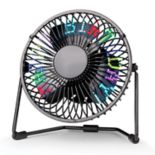 Smart Gear Programmable LED Message Fan