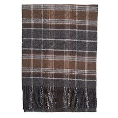 Men's Dockers Reversible Solid & Plaid Scarf