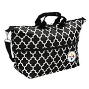 Logo Brand Pittsburgh Steelers Quatrefoil Expandable Tote